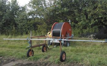 Het irrigatiesysteem van Walter Coens
